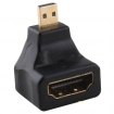 Micro HDMI 5Pin (папа) to HDMI (мама) адаптер